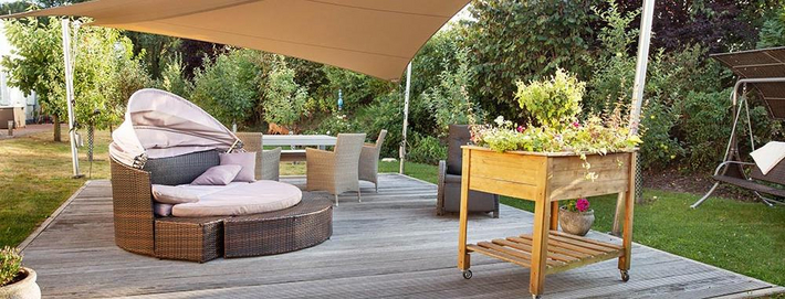 Terrassen & Wintergarten | Johannis Hospiz